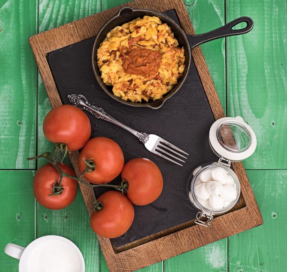 receptov omleta z ajvarjem