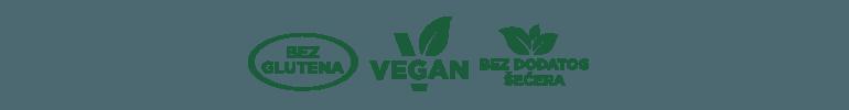 vegan bez glutena bez dodatog secera